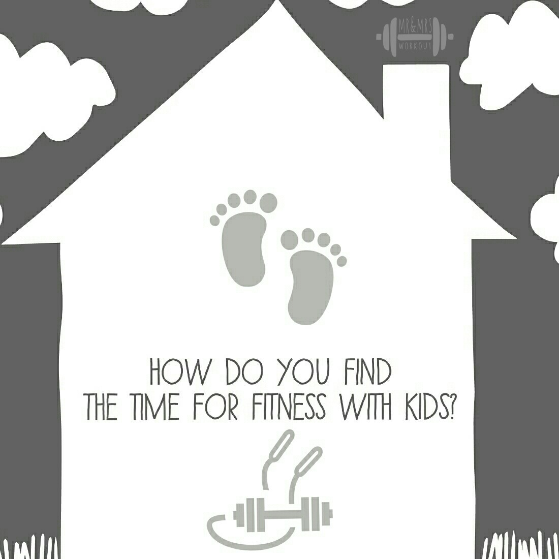 A Mr & Mrs Life Find the time for fitness with kids