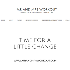 Mr and Mrs Workout